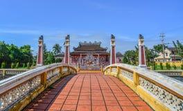 Ένας τοπικός ναός σε Hoi μια παλαιά πόλη στοκ φωτογραφία με δικαίωμα ελεύθερης χρήσης