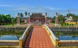 Ένας τοπικός ναός σε Hoi μια παλαιά πόλη στοκ εικόνες με δικαίωμα ελεύθερης χρήσης