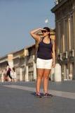 Ένας τουρίστας κοιτάζει στοκ φωτογραφία με δικαίωμα ελεύθερης χρήσης