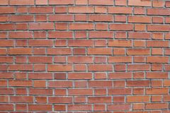 ένας τούβλινος τοίχος είναι φυσικός στοκ φωτογραφία με δικαίωμα ελεύθερης χρήσης