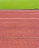 Ένας τρέχοντας στίβος. Στοκ Φωτογραφίες