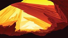 Ένας υψηλός - ποιοτικό υπόβαθρο του φανταστικού τοπίου βουνών ελεύθερη απεικόνιση δικαιώματος