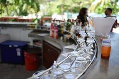 Ένας φραγμός σε Phuket Στοκ Εικόνα
