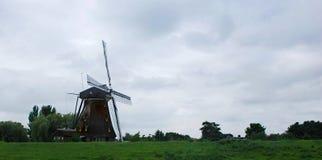 Ένας χαρακτηριστικός μύλος του Άμστερνταμ στοκ εικόνες με δικαίωμα ελεύθερης χρήσης
