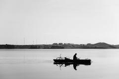 Ένας ψαράς Στοκ Εικόνες