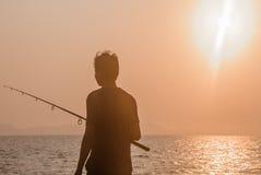 Ένας ψαράς Στοκ Φωτογραφίες