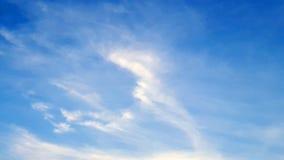Ένας όμορφος σωρείτης cloudscape στο μπλε ουρανό στοκ εικόνα