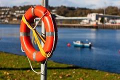 Ένας lifebuoy Στοκ φωτογραφίες με δικαίωμα ελεύθερης χρήσης