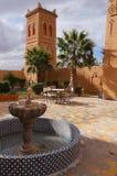 Ένας restautant σε Kasbah, Μαρόκο Στοκ εικόνες με δικαίωμα ελεύθερης χρήσης