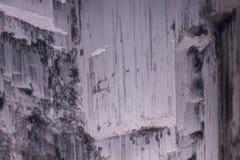 Ένας Selenite λαμπτήρας βράχου Στοκ Εικόνες