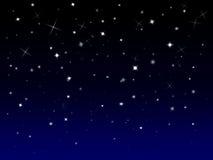 Έναστρη ανασκόπηση Sparkly Στοκ φωτογραφία με δικαίωμα ελεύθερης χρήσης