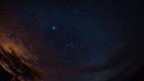 Έναστρη νύχτα Desierto de Λα Tatacoa Στοκ Εικόνες