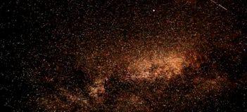 Έναστρη φωτογραφία νυχτερινού ουρανού για το μικροϋπολογιστής-απόθεμα στοκ εικόνες