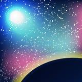 Έναστρο εξωτερικό διάνυσμα αστερισμού νύχτας κόσμου νεφελώματος αστρονομίας ουρανού υποβάθρου κόσμου απεικόνισης γαλαξιών κοσμικό Στοκ φωτογραφία με δικαίωμα ελεύθερης χρήσης