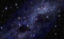 Έναστρο διαστημικό υπόβαθρο Στοκ εικόνες με δικαίωμα ελεύθερης χρήσης