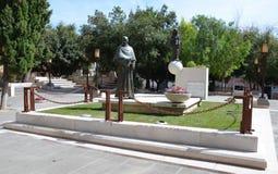 Ένα άγαλμα Αγίου Francis Anthony Fasani στοκ εικόνες