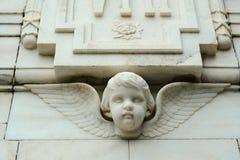 Ένα άγαλμα αγγέλου στο μνημείο Βικτώριας σε Kolkata, Ινδία Στοκ φωτογραφίες με δικαίωμα ελεύθερης χρήσης