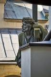 Ένα άγαλμα του Ιησούς Χριστού Στοκ Εικόνα