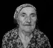 Ένα άλλο πορτρέτο Grandma Evgeniia στοκ εικόνες