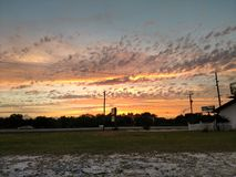 Ένα άλλο όμορφο ηλιοβασίλεμα στοκ φωτογραφία με δικαίωμα ελεύθερης χρήσης