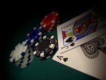 ένα άλλο blackjack Στοκ φωτογραφίες με δικαίωμα ελεύθερης χρήσης