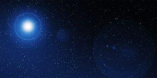 Διαστημικό υπόβαθρο αστεριών Στοκ Εικόνα