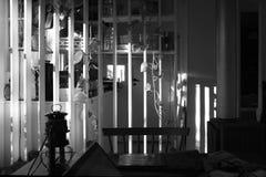 Ένα άνετο σύγχρονο γραφείο στη σέπια στοκ εικόνες
