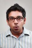 Ένα άτομο που φορά τα γυαλιά Στοκ εικόνες με δικαίωμα ελεύθερης χρήσης