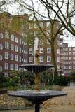 Ένα αγγλικό κυκλικό πάρκο στο Λονδίνο Στοκ Φωτογραφία