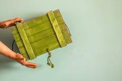 Ένα αγροτικό ξύλινο κιβώτιο Στοκ φωτογραφίες με δικαίωμα ελεύθερης χρήσης