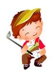 Ένα αγόρι ελεύθερη απεικόνιση δικαιώματος