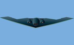 Βομβαρδιστικό αεροπλάνο μυστικότητας Στοκ εικόνες με δικαίωμα ελεύθερης χρήσης