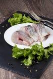Ένα ακατέργαστο ψάρι Στοκ εικόνες με δικαίωμα ελεύθερης χρήσης