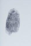 Ένα δακτυλικό αποτύπωμα Στοκ φωτογραφίες με δικαίωμα ελεύθερης χρήσης