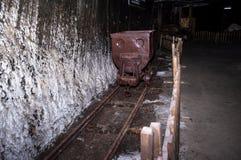 Ένα αλατισμένο ορυχείο στη Ρουμανία στοκ φωτογραφία με δικαίωμα ελεύθερης χρήσης