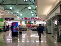 Ένα αλυσίδα σουπερμάρκετ σε Christchurch, Νέα Ζηλανδία Στοκ φωτογραφία με δικαίωμα ελεύθερης χρήσης