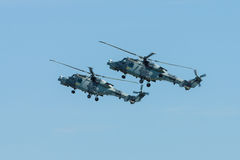 Ένα ανθυποβρυχιακό και anti-shipping ελικόπτερο - αγριόγατος AgustaWestland AW159 Στοκ φωτογραφίες με δικαίωμα ελεύθερης χρήσης