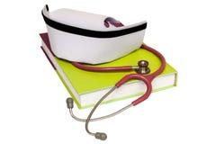Ένα απομονωμένο καπέλο νοσοκόμων Στοκ εικόνες με δικαίωμα ελεύθερης χρήσης