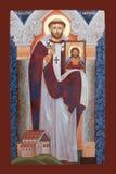 ΕΙΚΟΝΊΔΙΟ - ST Augustine του Καντέρμπουρυ Στοκ Εικόνα