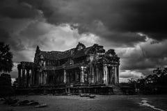 Ένα από τα 7 αναρωτιέται του κόσμου - Angkor Wat - περιοχή παγκόσμιων κληρονομιών της ΟΥΝΕΣΚΟ κοντά σε Siem συγκεντρώνει - Καμπότ Στοκ Φωτογραφία
