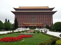 Ένα από το παγκόσμιο πιό ψηλό κινεζικό κλασσικό κτήριο - το μεγάλο ξενοδοχείο στη Ταϊπέι, Ταϊβάν Στοκ φωτογραφία με δικαίωμα ελεύθερης χρήσης