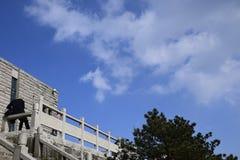 Ένα από Huangshan Στοκ εικόνα με δικαίωμα ελεύθερης χρήσης