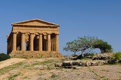 Η κοιλάδα των ναών στοκ εικόνες