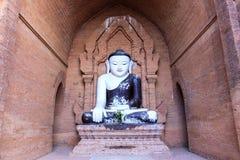 Ένα αρχαίο άγαλμα του Βούδα Στοκ Φωτογραφίες