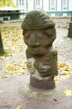 Ένα αρχαίο είδωλο πετρών Στοκ φωτογραφία με δικαίωμα ελεύθερης χρήσης
