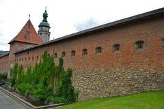 Ένα αρχαίο μεσαιωνικό φρούριο Στοκ Εικόνες