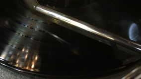 Ένα αρχείο παίζει στο jukebox απόθεμα βίντεο