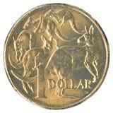 Ένα αυστραλιανό νόμισμα δολαρίων Στοκ Φωτογραφίες