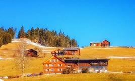 Ένα αυστριακό Guesthouse Στοκ φωτογραφία με δικαίωμα ελεύθερης χρήσης