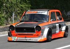 Ένα αυτοκίνητο συνάθροισης 112 Abarth Στοκ εικόνα με δικαίωμα ελεύθερης χρήσης
